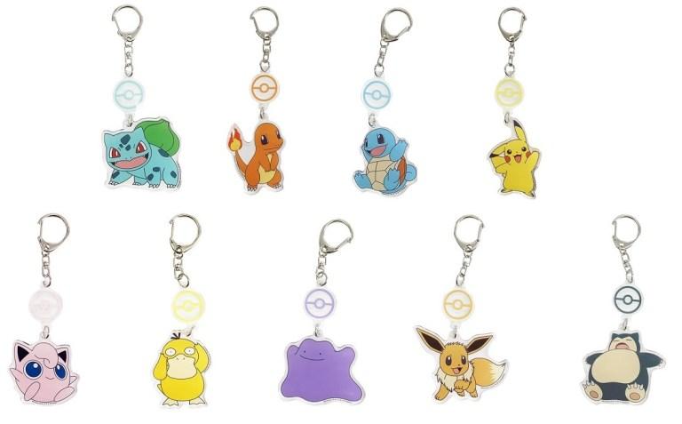 Pokemon 鎖匙扣及A4文件夾產品 接受訂購中