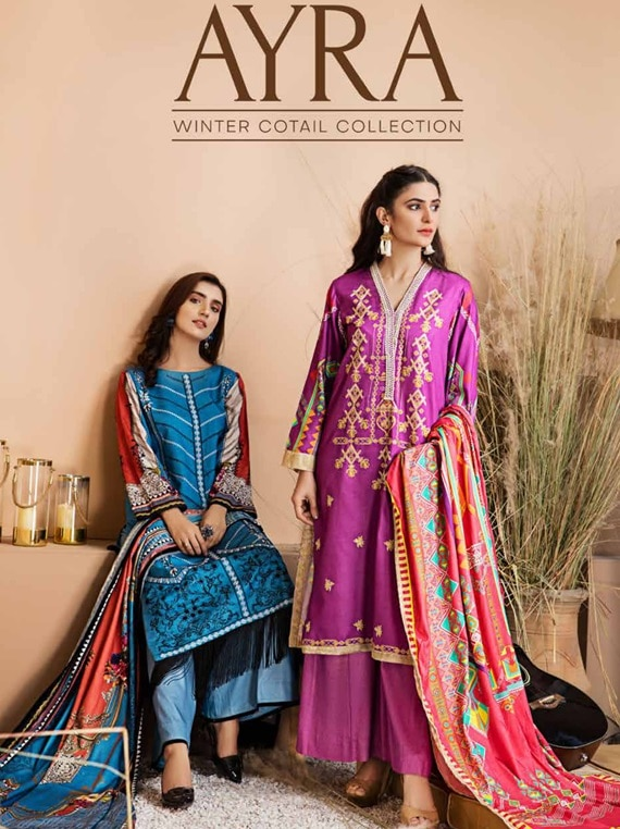 Ayra Winter Cotail Collection 2020