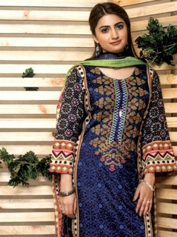 Maya By Noor Textile Embroidered collection