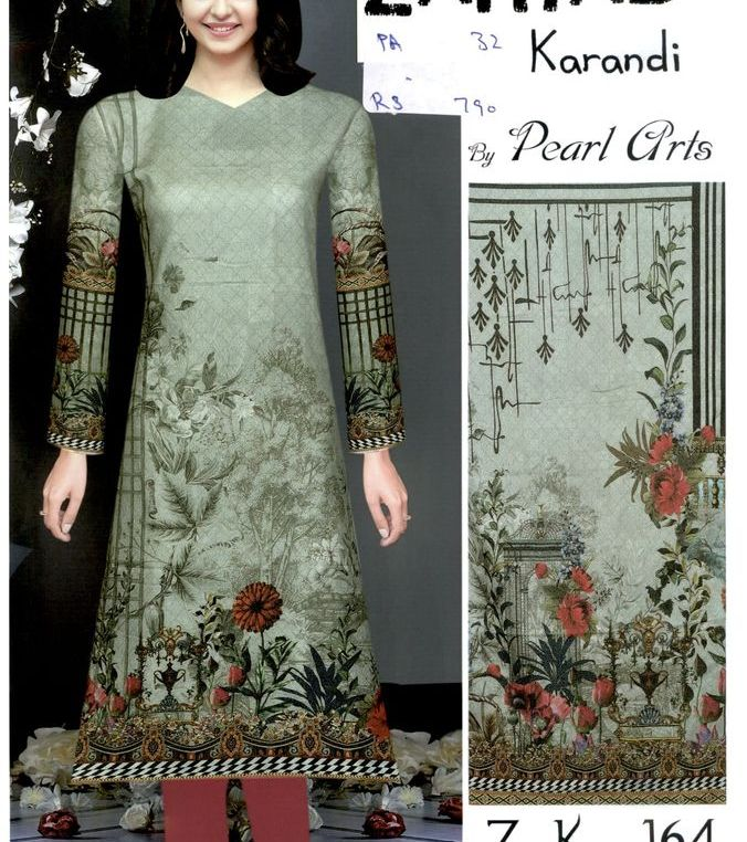 Zaryab Karandi Shirt By Pearl Arts