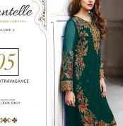 Chantelle Embroidered Chiffon Collection Vol-05 (D-05A)