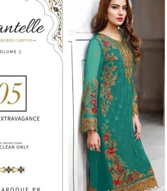 Chantelle Embroidered Chiffon Collection Vol-05 (D-05F)