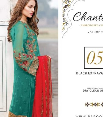 Chantelle Embroidered Chiffon Collection Vol-05 (D-05F)-gallery