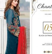 Chantelle Embroidered Chiffon Collection Vol-05 (D-05G)-gallery