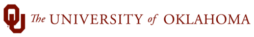 University of Oklahoma Logo in White