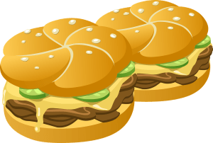 Picture of hamburgers.
