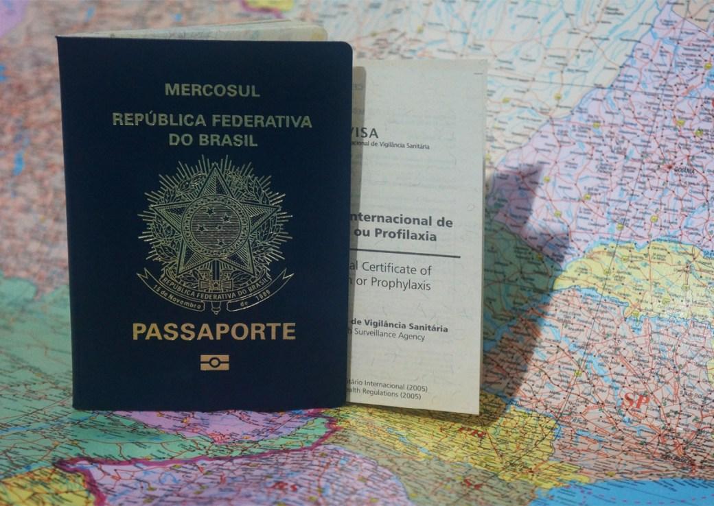 Preparativos para o mochilão pela América do Sul