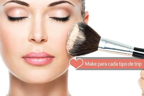 Maquiagem para levar nas viagens