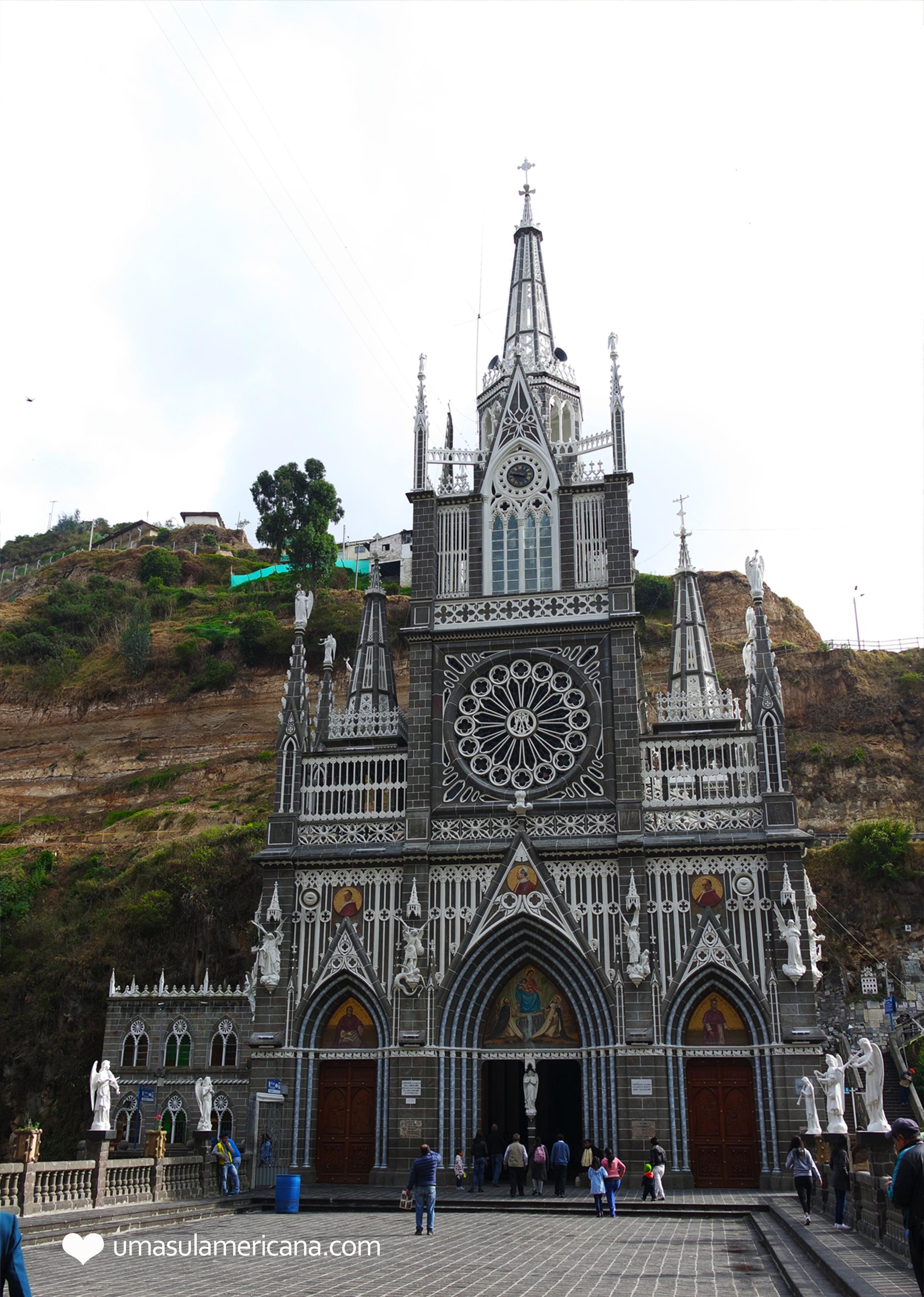 Santuário de Las Lajas, um tesouro arquitetônico na fronteira da Colômbia com Equador