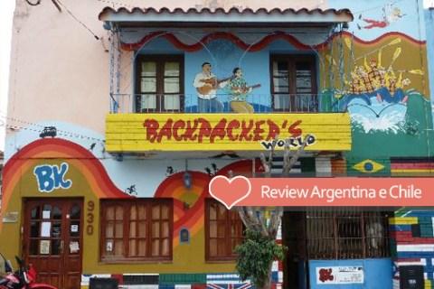 Review de hospedagens pela Argentina e Chile