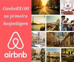 Ganhe R$100 em sua primeira hospedagem - AirBnB