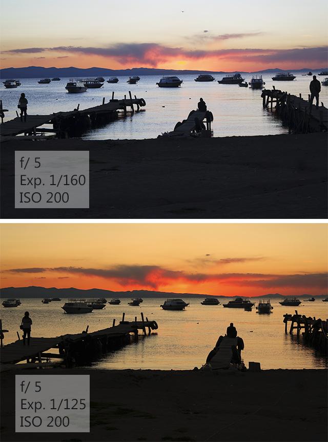 Como fotografar o nascer e o por do sol nas viagens - Configurações da Câmera