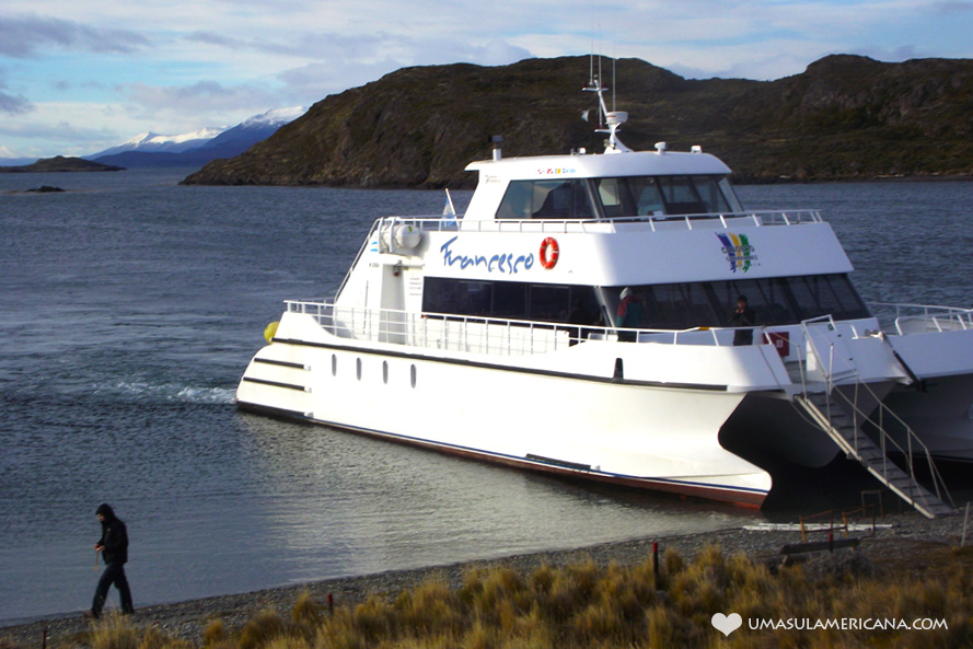 Canal de Beagle - como é a navegação no fim do mundo em Ushuaia - Patagonia Argentina