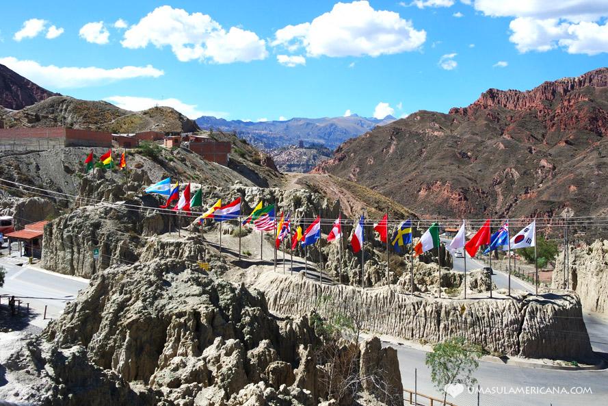 Opções do roteiro Peru, Bolívia e Chile (10, 15, 20, 25 e 30 dias) Valle de la Luna - La Paz