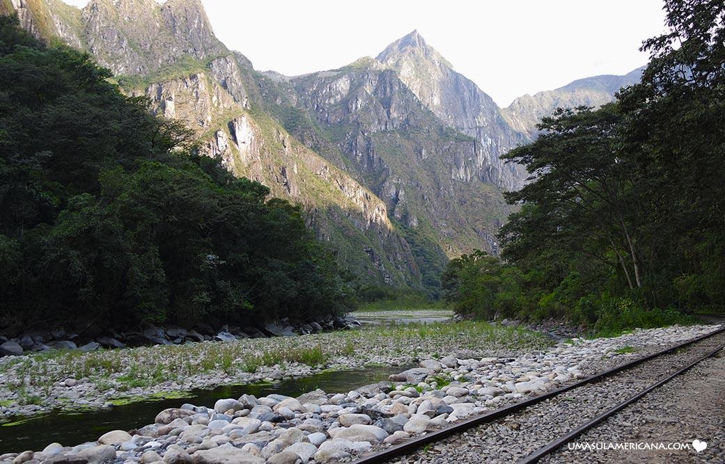 Sete maneiras de chegar em Machu Picchu - Machu Picchu pela Hidroelétrica