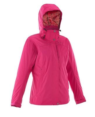 Jaqueta impermeável e corta vento - Técnica das 3 camadas