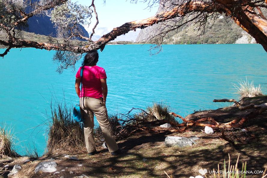 Laguna Llaganuco - Trilha da Laguna 69 - Relato de como é a trilha em Huaraz, Peru