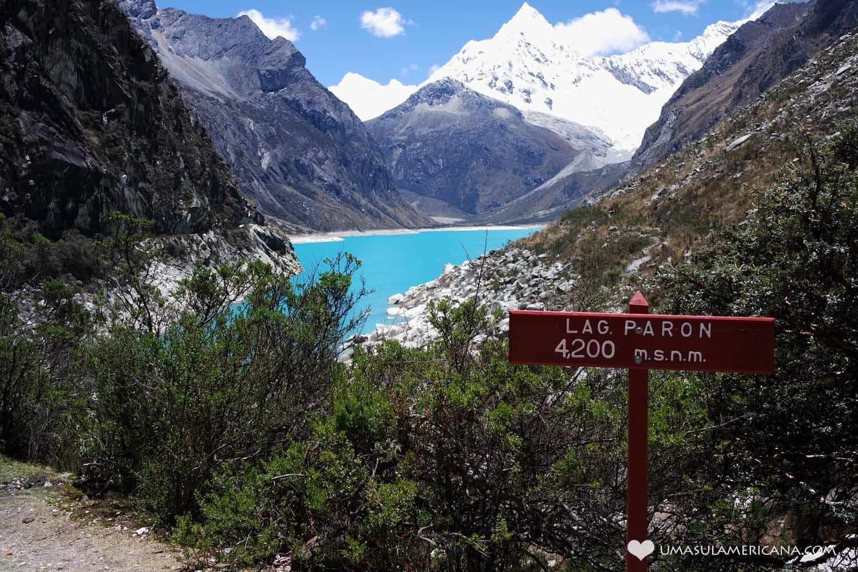 Peru: Laguna Páron - 10 Mandamentos do Viajante no Peru - Dicas para sua viagem