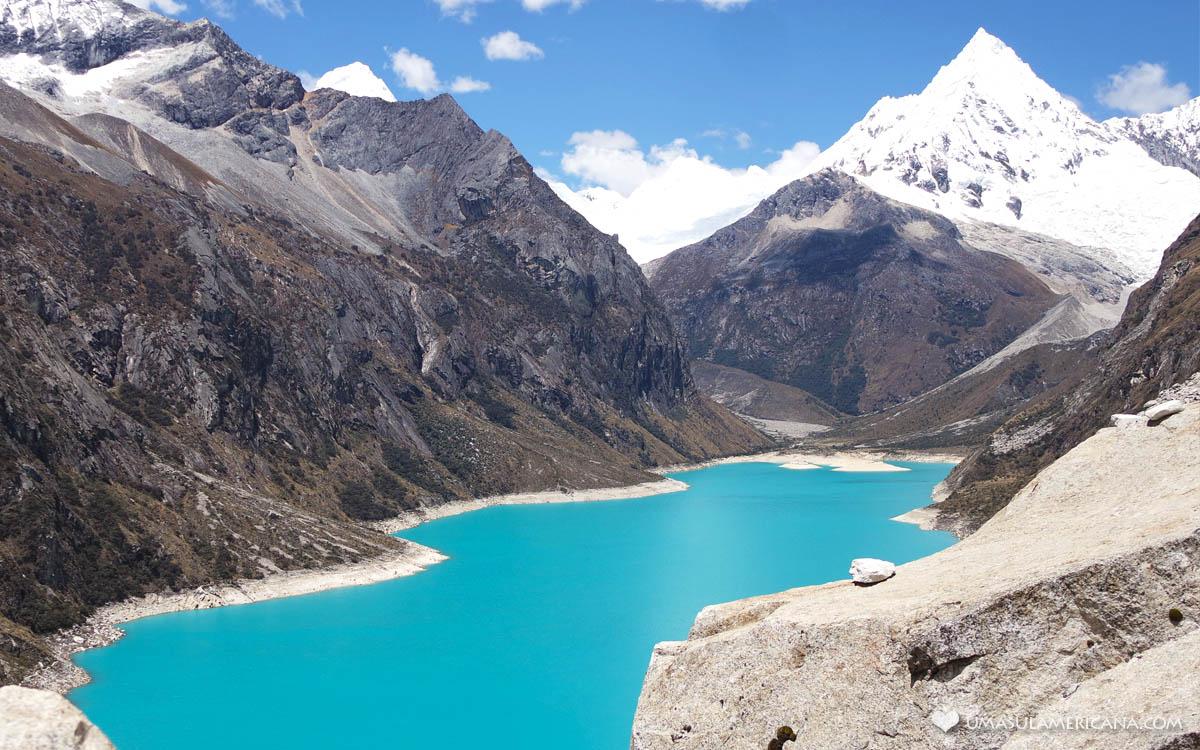 Laguna Parón Motivos para viajar pela América do Sul
