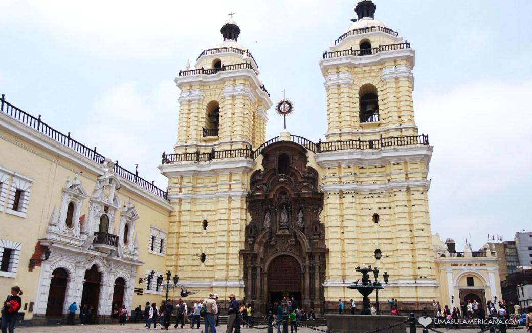 Conjunto Monumental San Francisco de Lima - Um dia em Lima - Roteiro pelo centro histórico