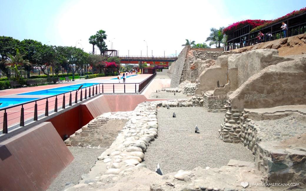 Parque la Muralla - Um dia em Lima - Roteiro pelo centro histórico