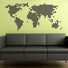 Papel de Parede de mapa pra comprar pela internet - Decoração de Viagem