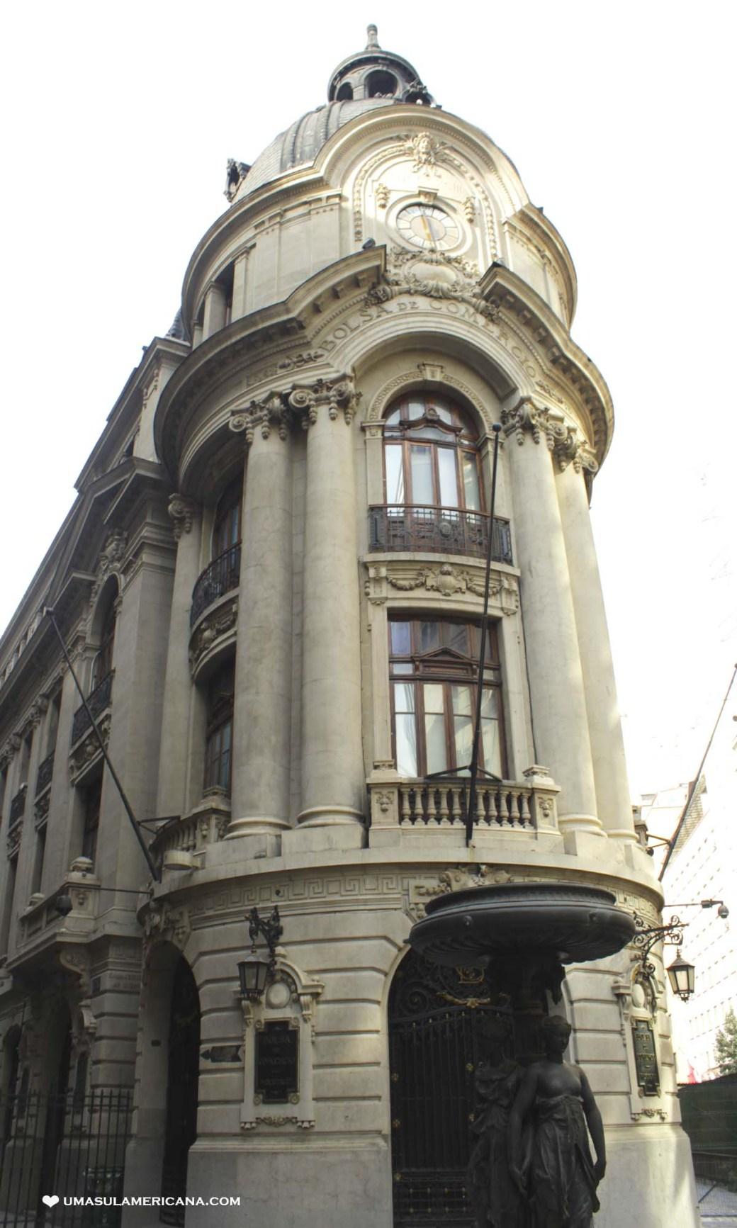 Free Tour Santiago - Bolsa de Comercio