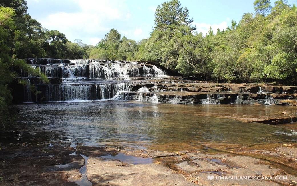 Turismo no Vale do Itararé - Tudo sobre Itararé, Sengés e região - Cachoeira Veadinhos