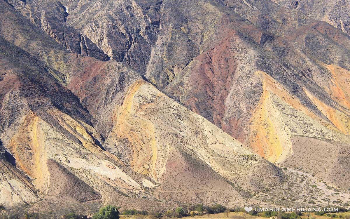 Maimará e Las Paletas del Pintor, Quebrada de Humahuaca, Ticara - Jujuy, norte da Argentina