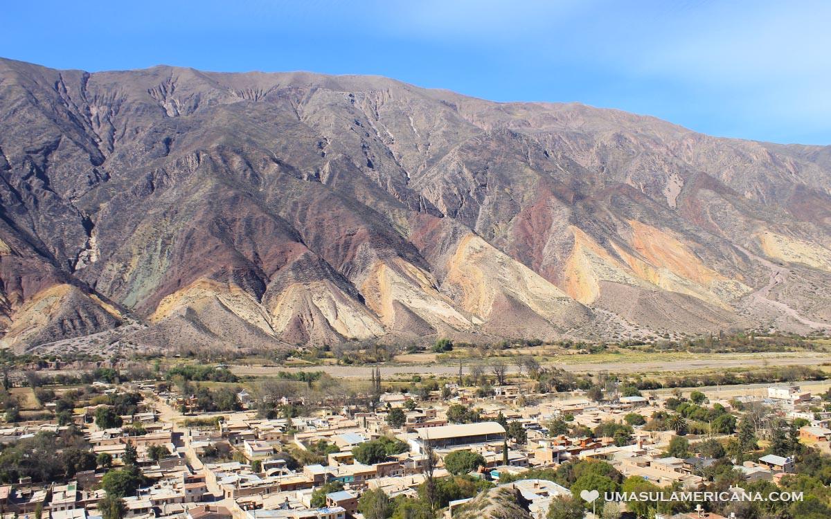Maimará e Las Paletas del Pintor, Ticara - Jujuy, norte da Argentina - Quebrada de Humahuaca