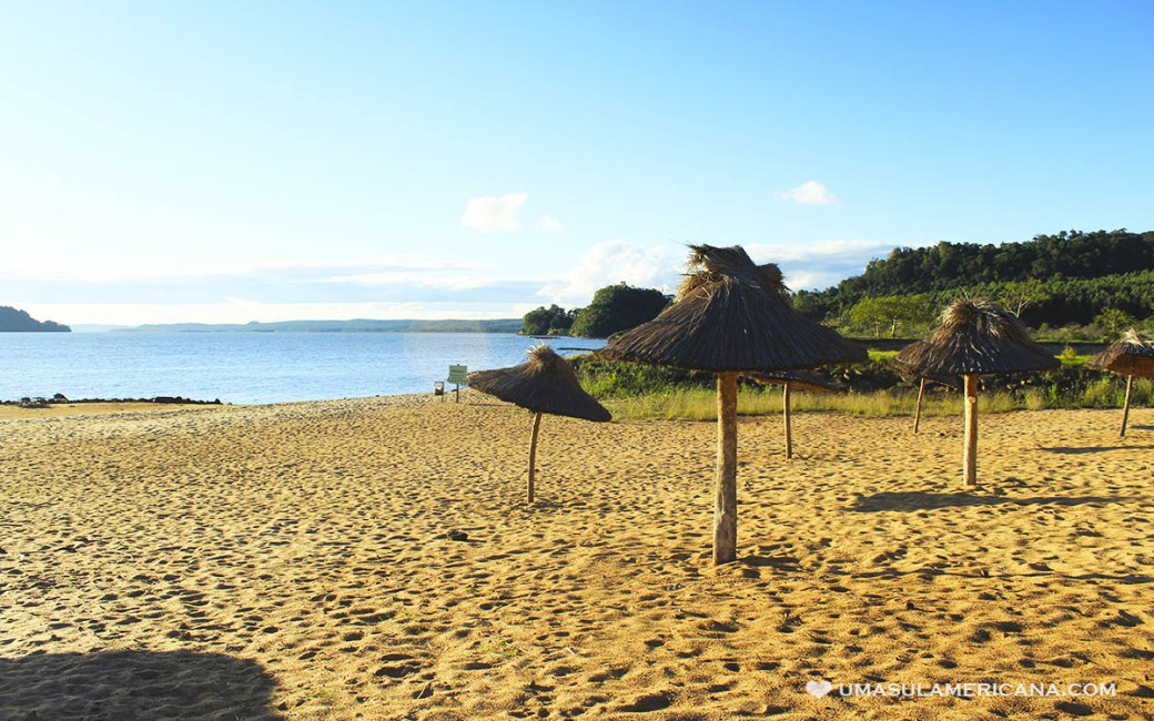 Roteiro Brasil, Argentina e Paraguai - Playa del Sol em San Ignacio