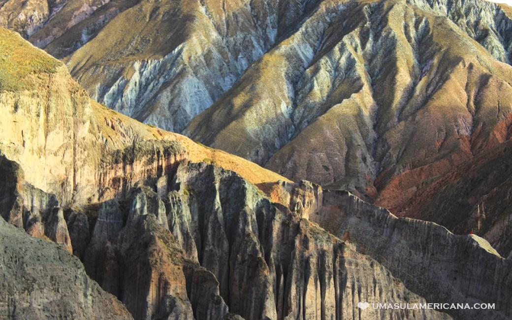As cores de Iruya, um pueblo da província de Salta, na Argentina