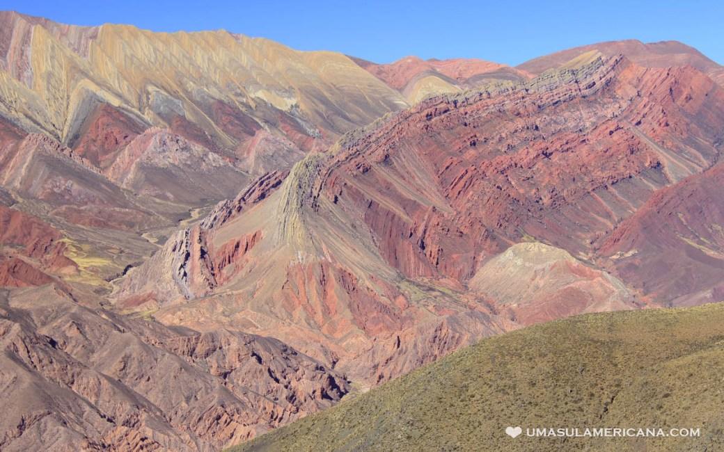 Cerro de 14 Colores em Humahuaca, Jujuy