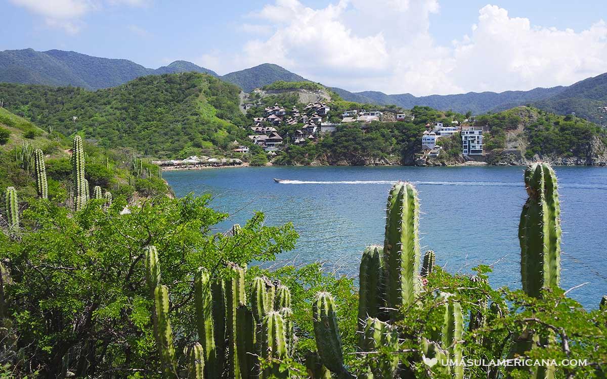 Caribe colombiano - Taganga, entre Santa Marta e Tayrona