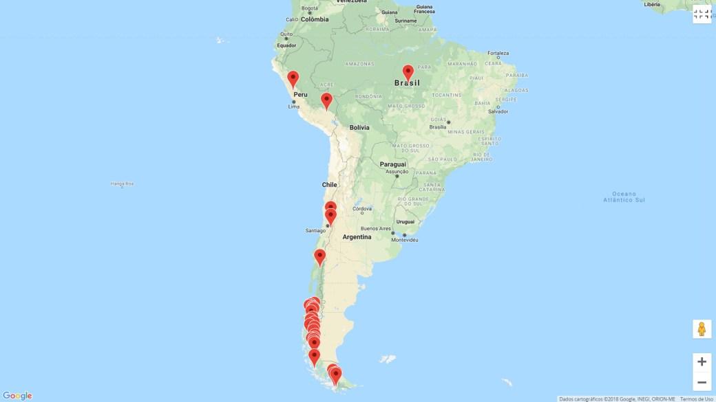 Geleiras na América do Sul para uma aventura glacial