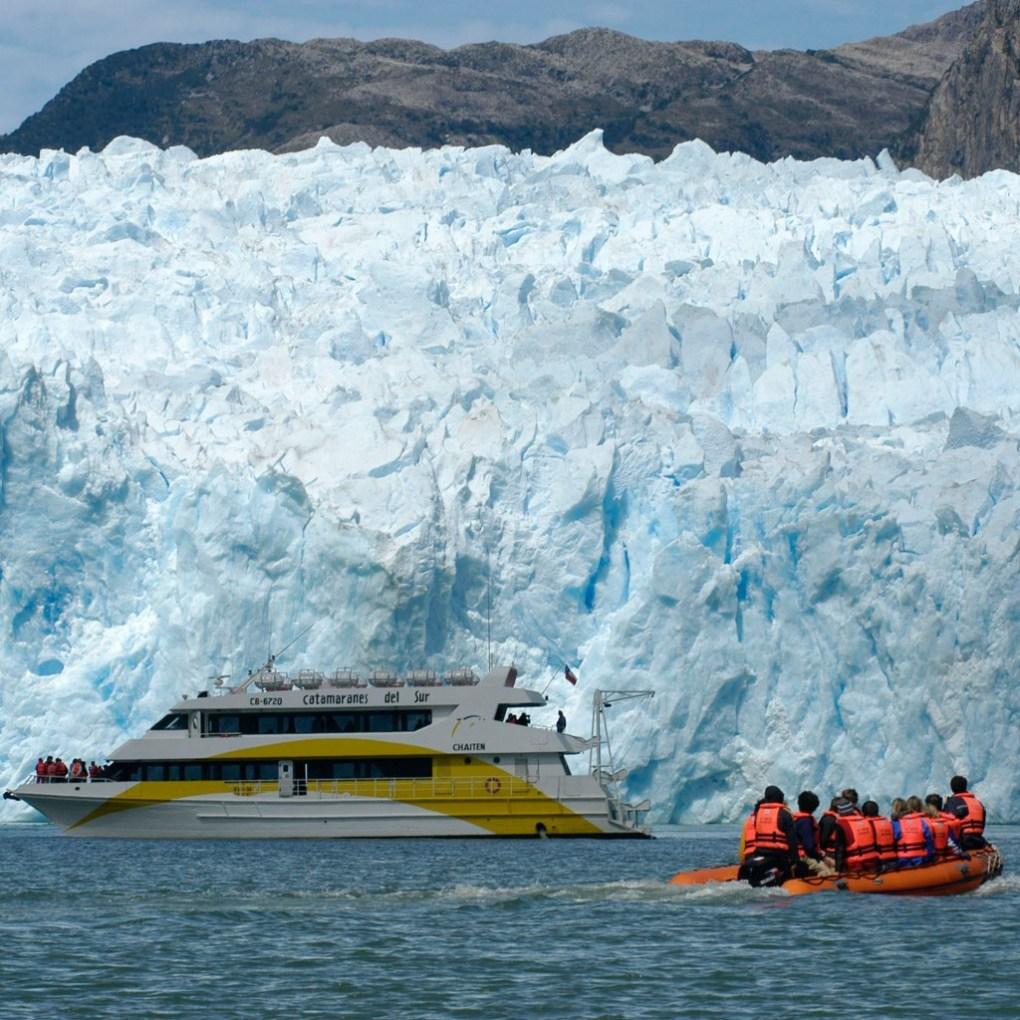 Glaciar San Rafael - Geleiras na América do Sul