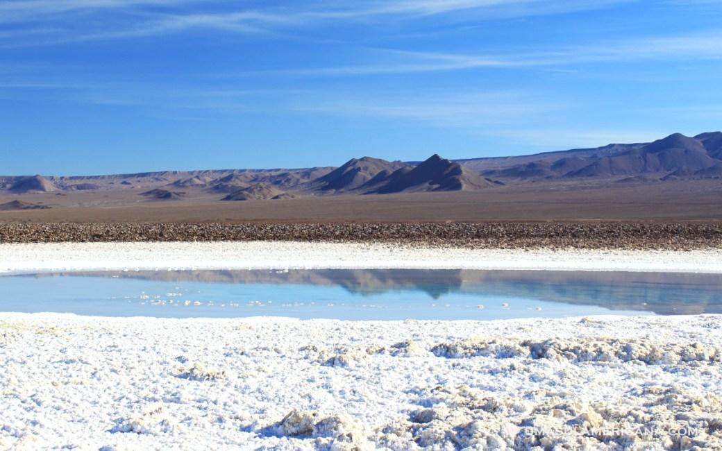 Tour no Atacama - Lagunas Escondidas de Baltinache