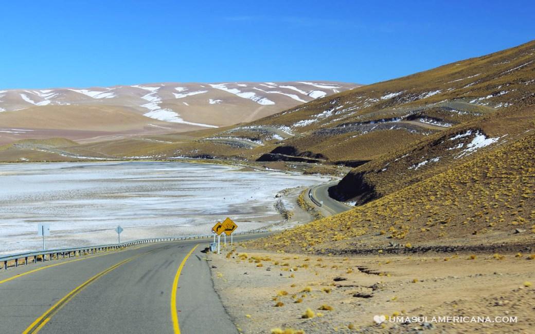 Paso Jama - Como cruzar a fronteira Argentina Chile ao Norte
