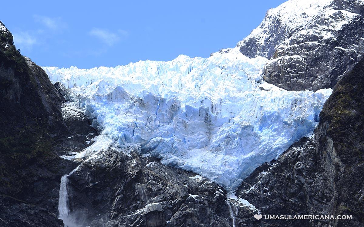 Glaciar na Carretera Austral - Ventisquero Colgante - Parque Nacional Queulat - Sul do Chile