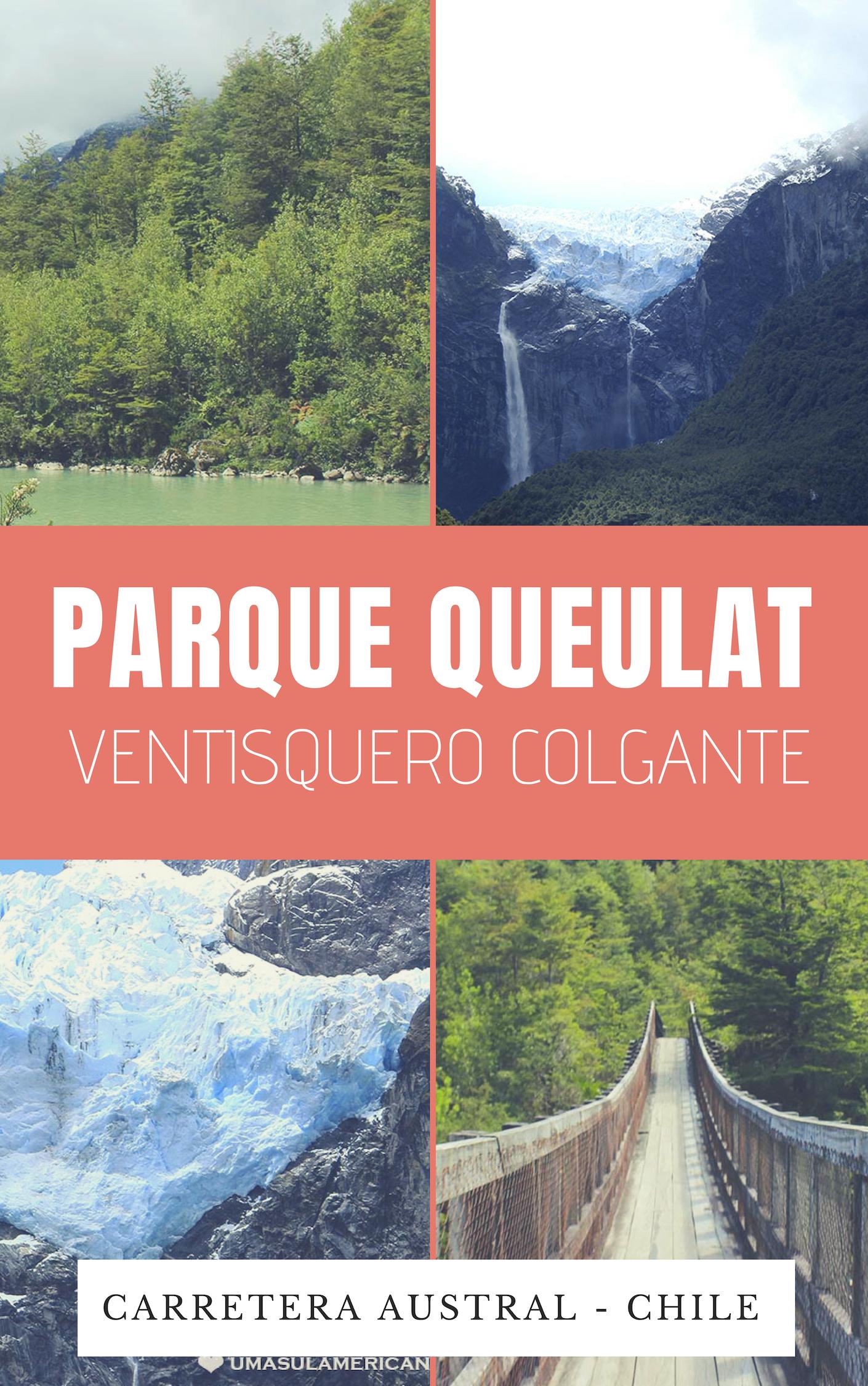 Parque Nacional Queulat e o Ventisquero Colgante, no Sul do Chile, na Carretera Austral - Patagônia chilena