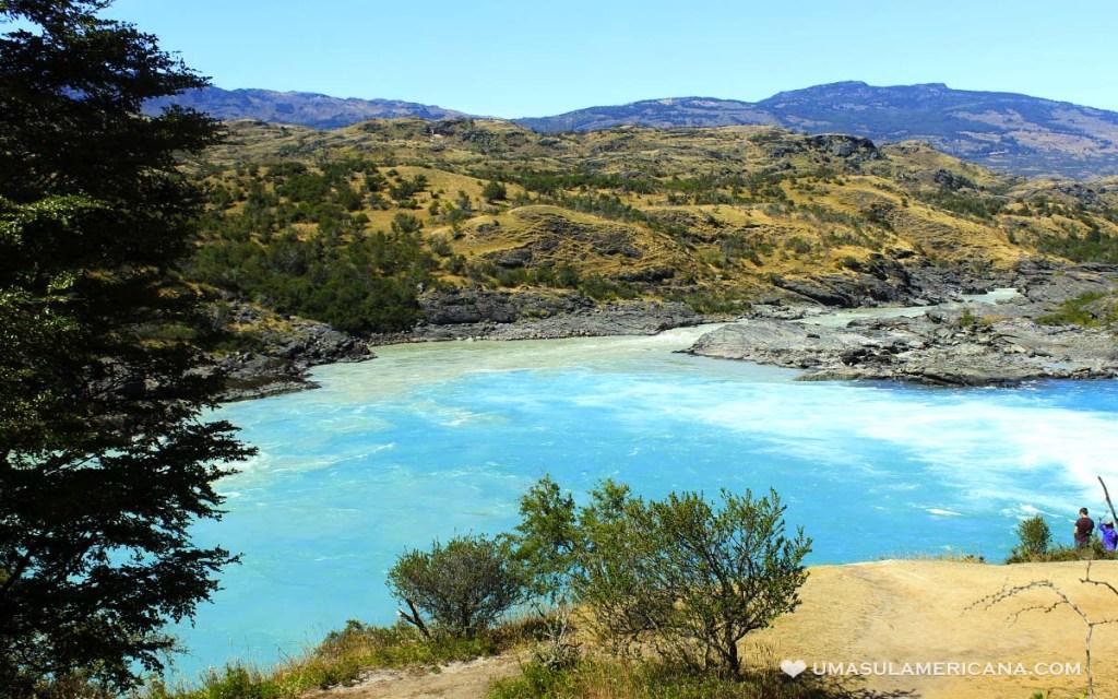 Confluência do Rio Baker e Neff, Sul do Chile