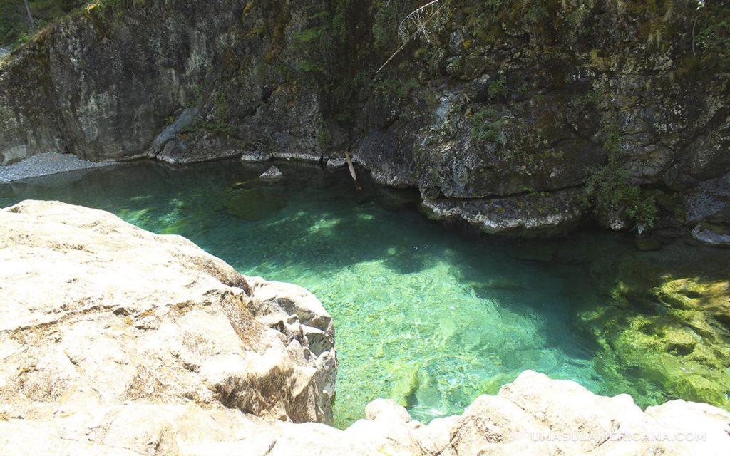 Cajón del Azul, na Patagônia Argentina