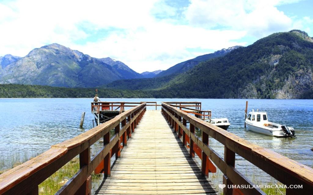 Puerto Chucao - Parque Nacional Los Alerces na Argentina - Chubut