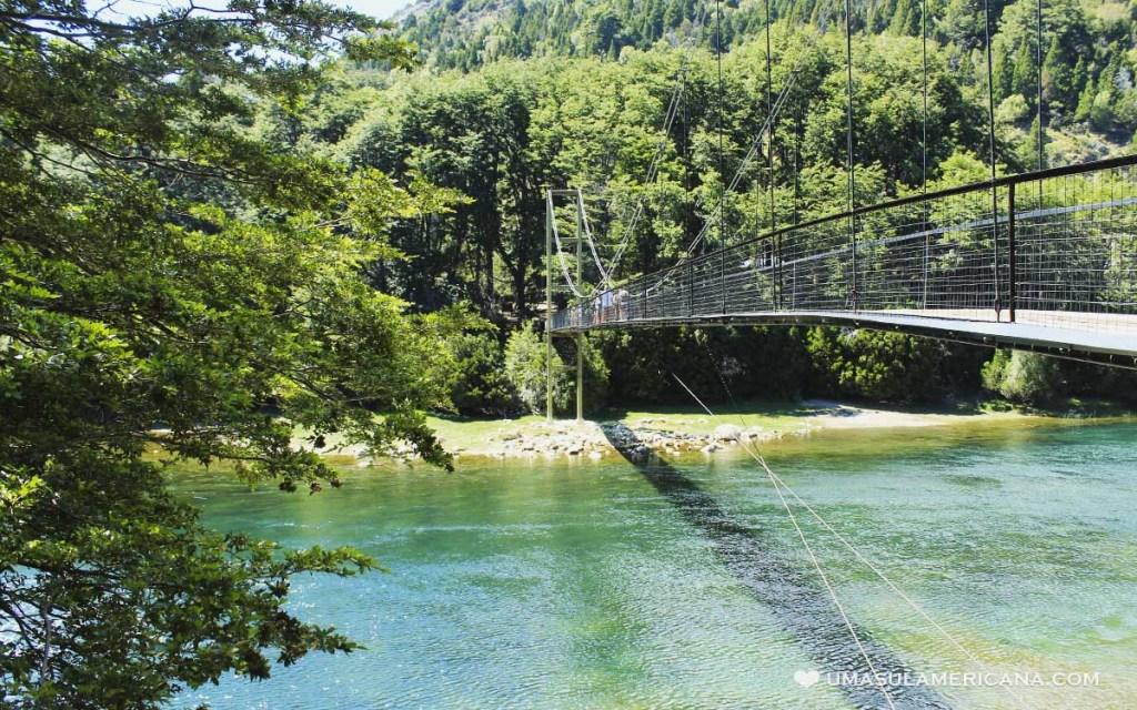 Trilha Lago Verde Parque Nacional Los Alerces