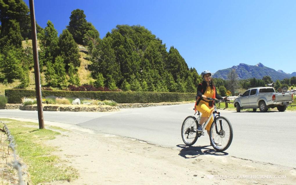 Bariloche - Circuito Chico de bicicleta por conta própria