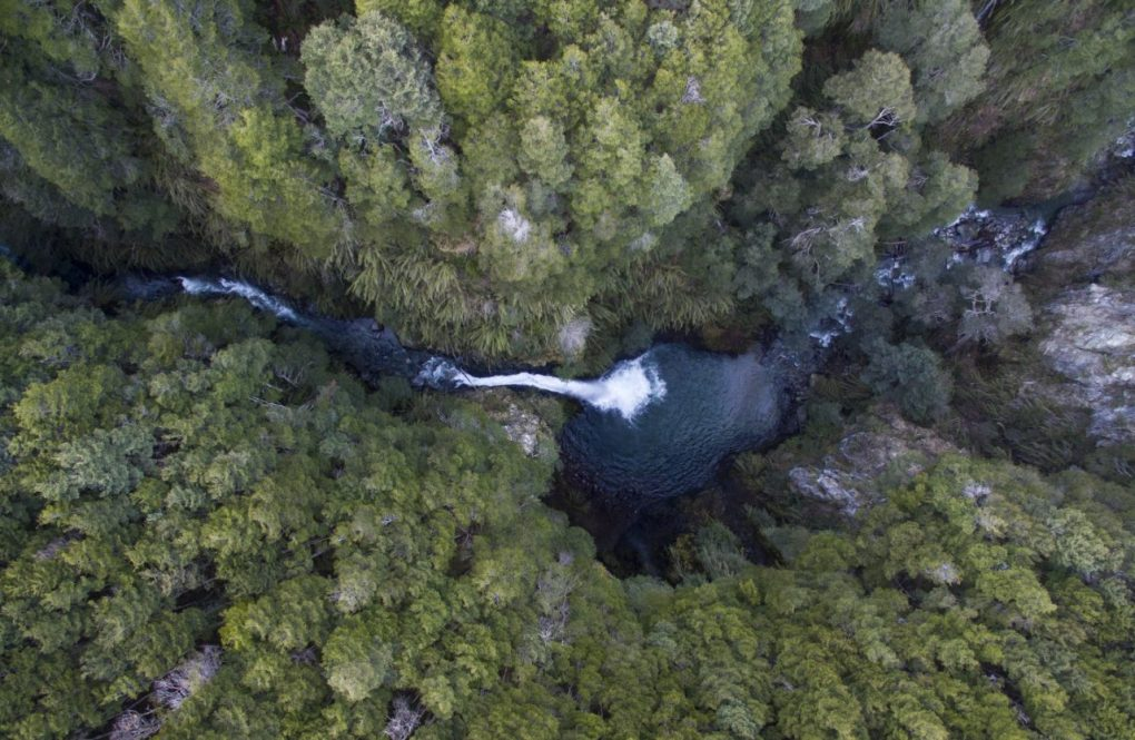 Cascada del Rio Bonito en Villa La Angostura