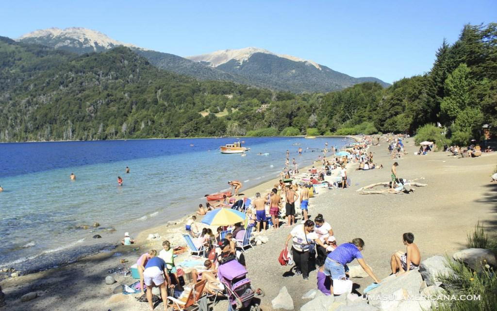 Patagônia argentina - Neuquen | Praia do Lago Correntoso - O que fazer em Villa La Angostura