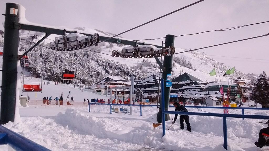 Esquiar na Patagônia