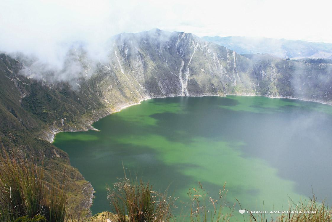 Vulcão Quilotoa por conta própria