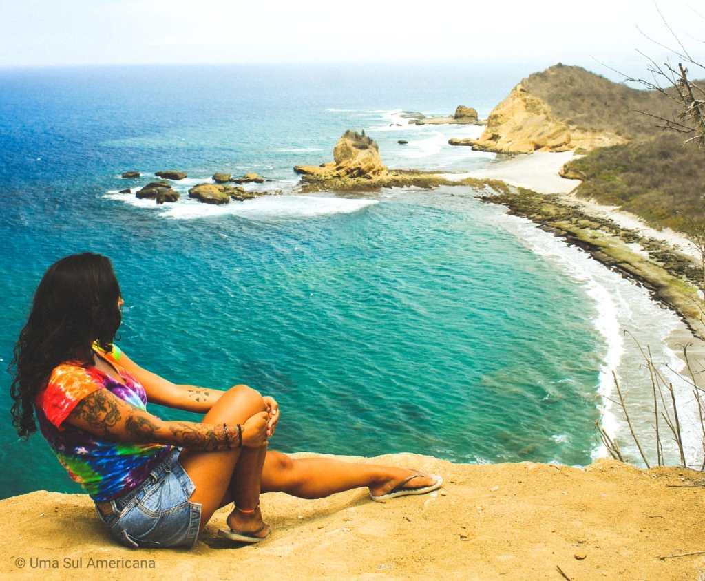 Los Frailes na costa equatoriana - Turismo no Equador